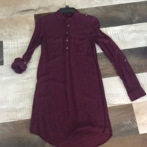 Kohl's shirt dress like new only worn once